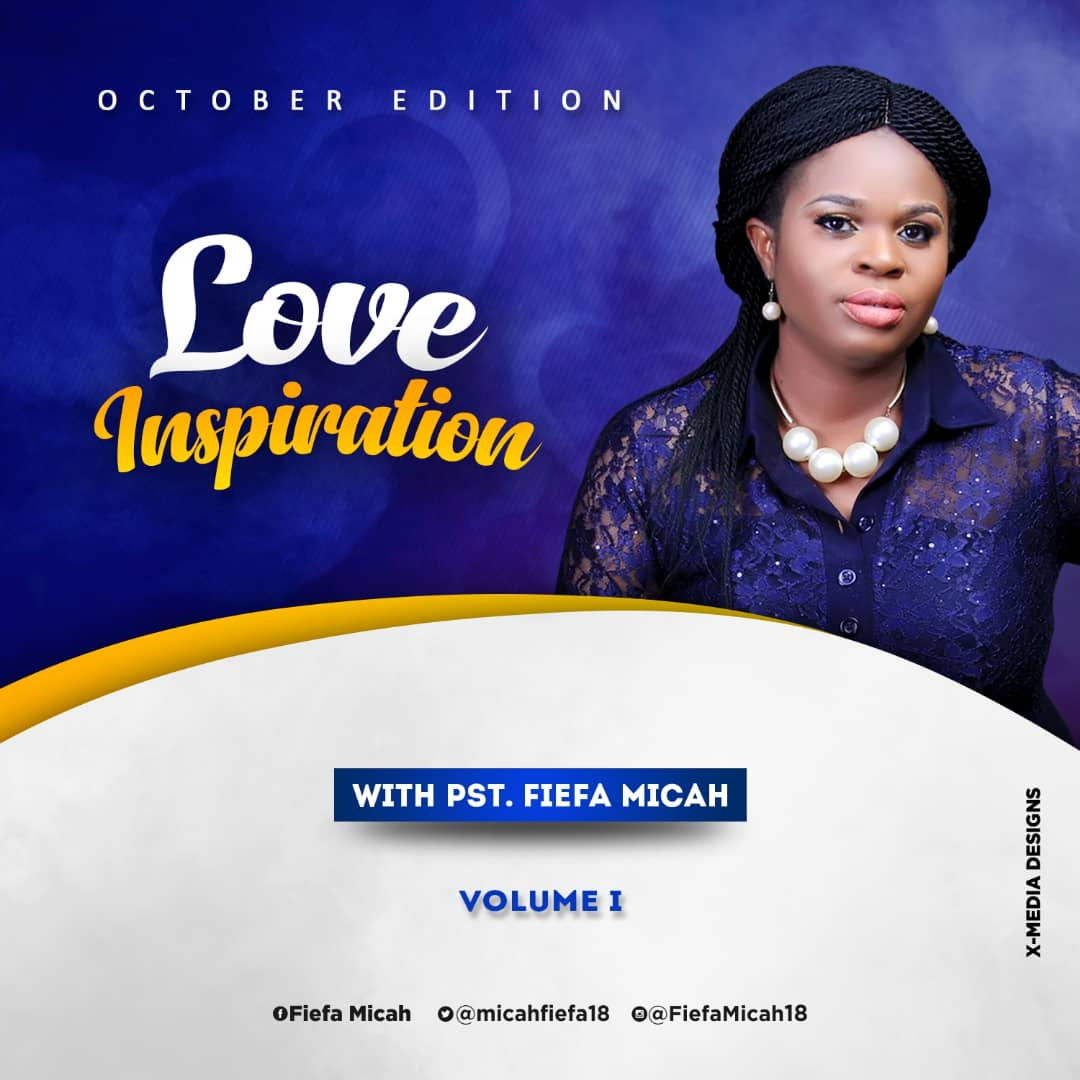 Fiefa Micah Love Inspiration 'Take Charge' October Volume I