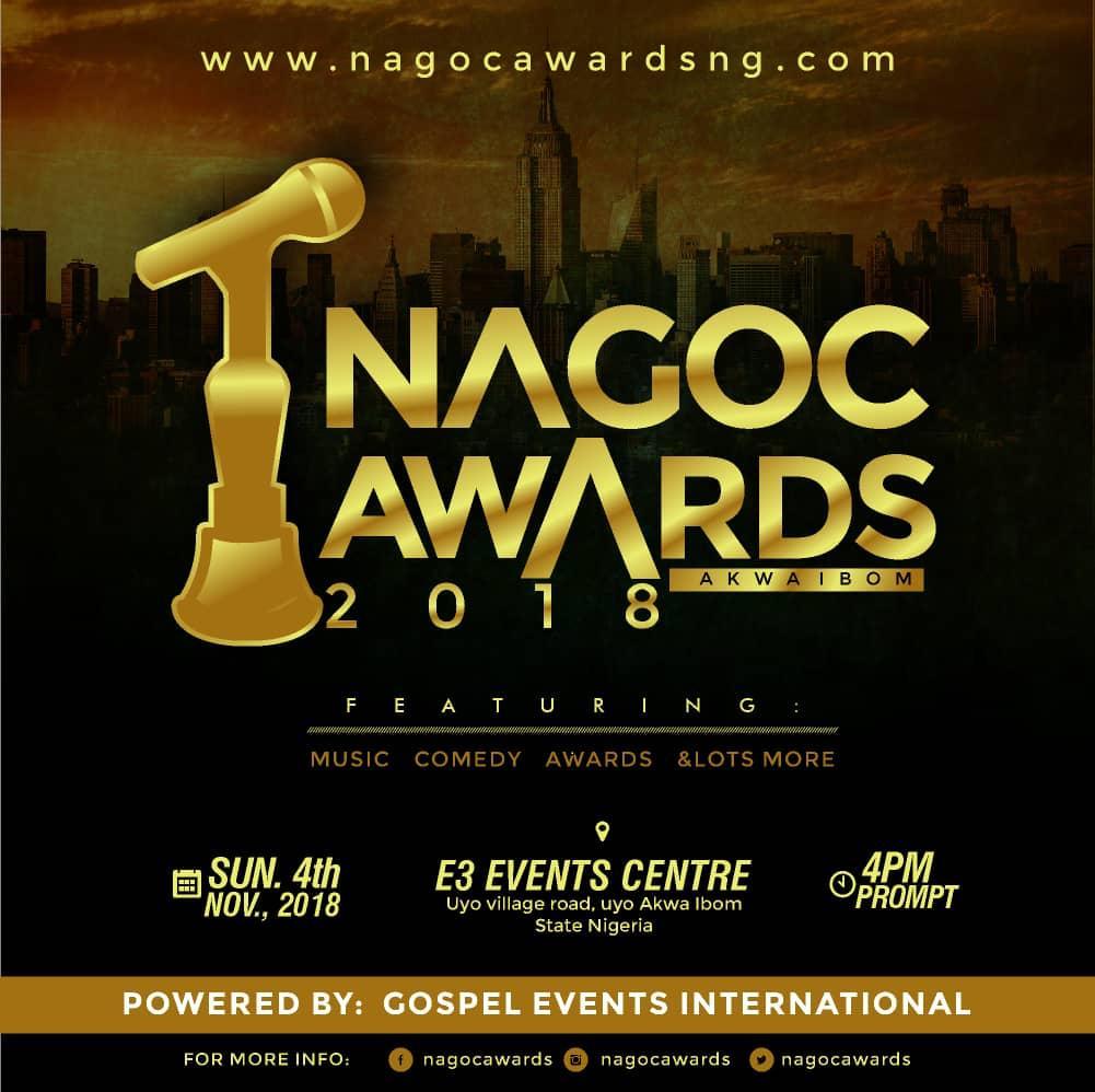 Paulinus Nnah Unveiled 2018 NAGOC Music Awards
