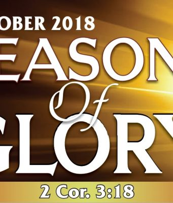 """Prophetic Focus For The Month Of October 2018 """"SEASONS OF GLORY""""Winners Chapel"""
