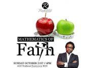 Mathematics Of Faith by Dr. Sonnie Badu