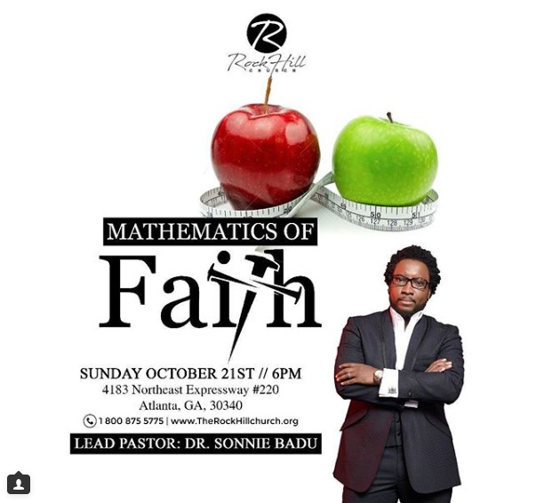 Mathematics Of Faith by Dr. Sonnie Badu