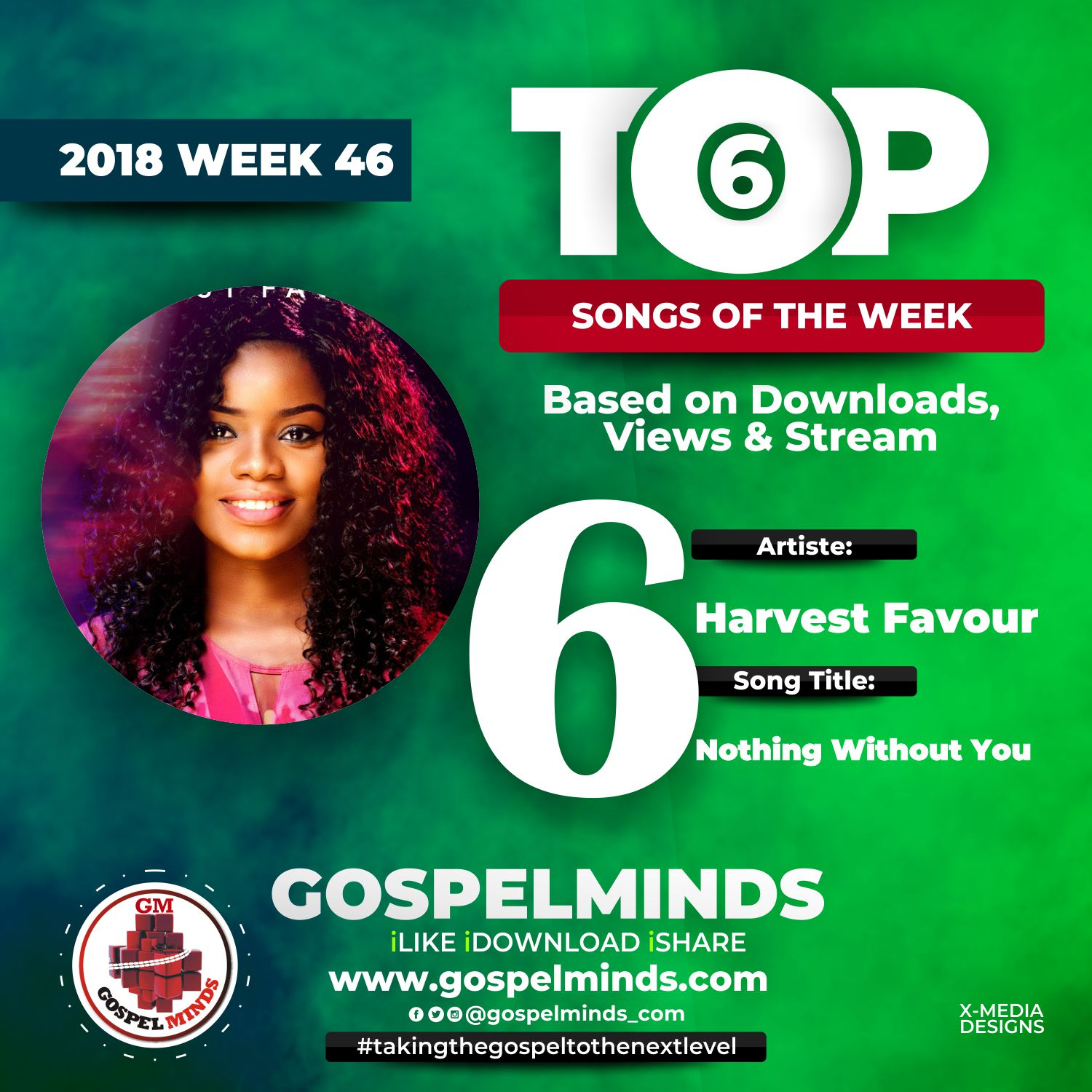 No. 6 = Harvest Favour – Nothing Without You