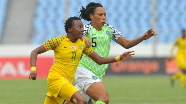 2018 AWCON Finals Nigeria 4 - South Africa 3 (Penalties)