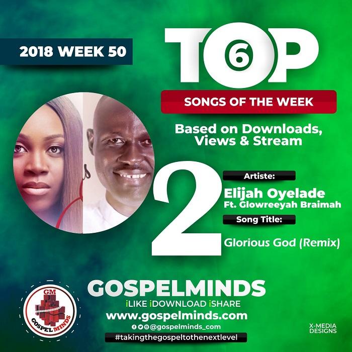 Elijah Oyelade Ft. Glowreeyah Braimah – Glorious God (Remix) NO. 2