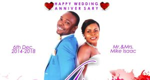 Happy Wedding Anniversary to Mike Isaac, the CEO of MIMRecords.