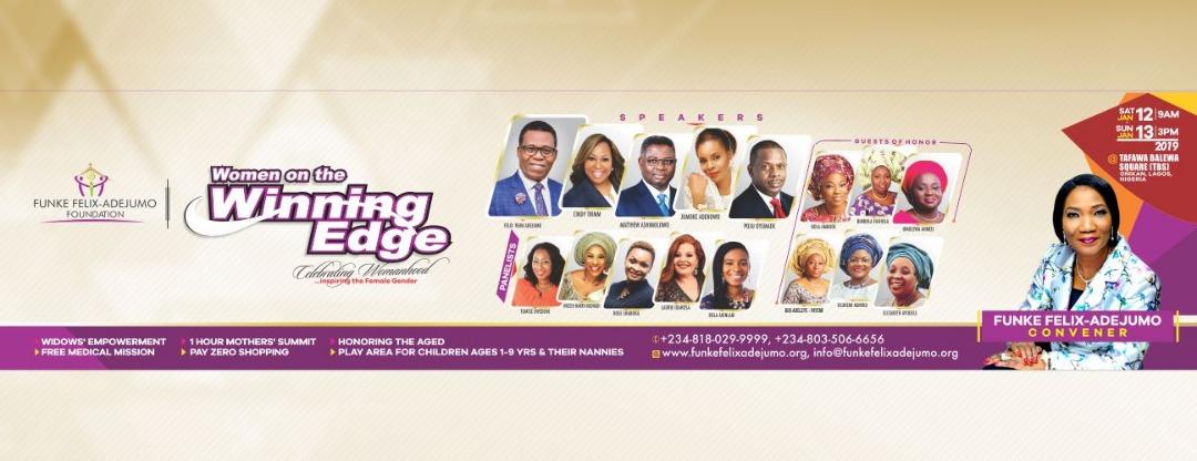Rev. Funke Felix-Adejumo Winning Edge Conference 2019