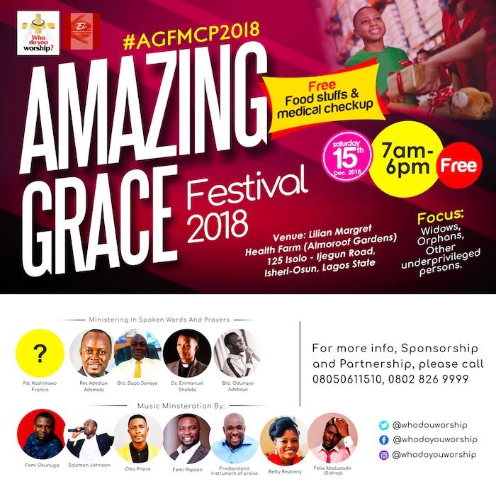 Solomon Johnson presents Amazing Grace Festival 2018 Event