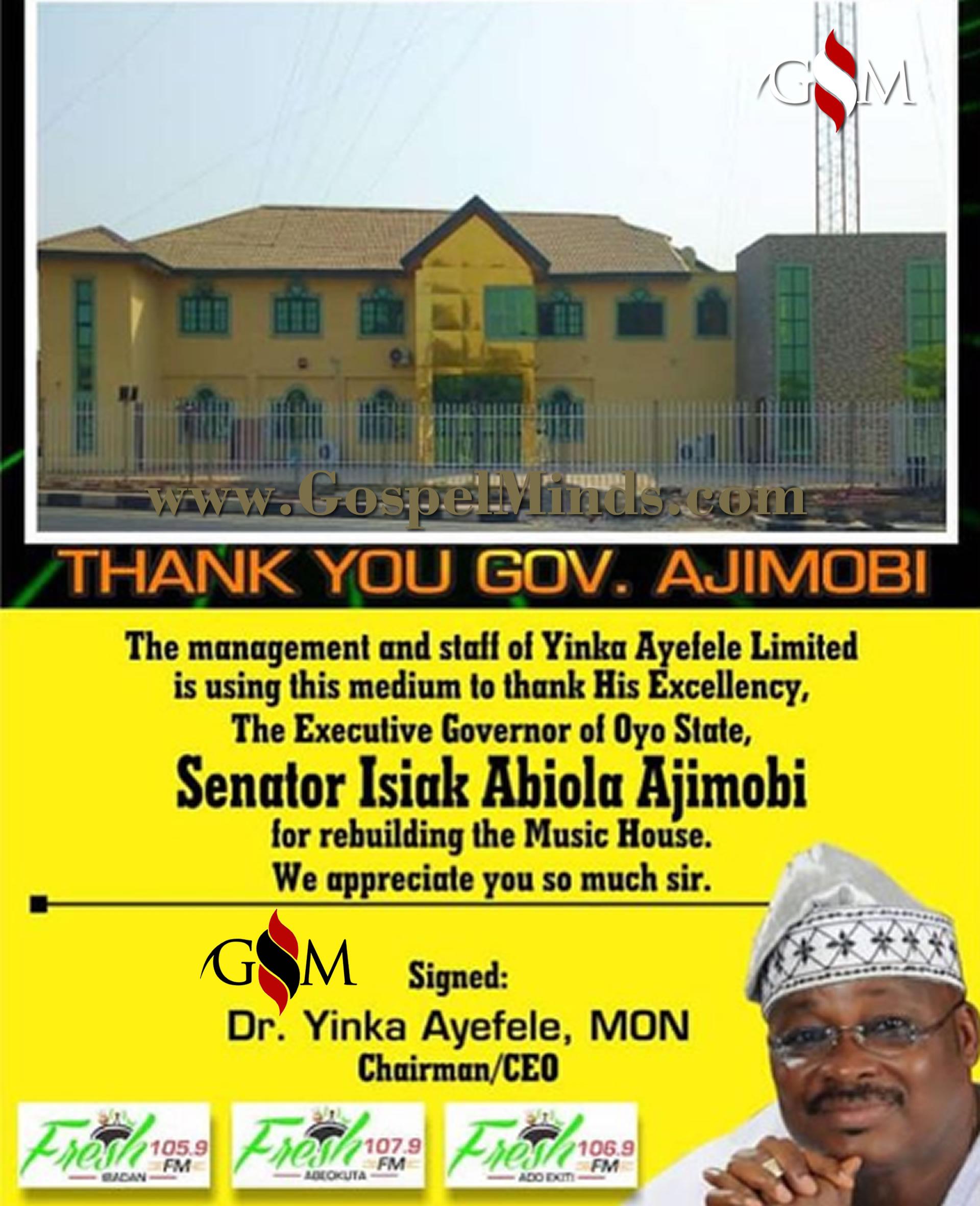 Abiola Ajimob and Yinka Ayefele GospelMinds.comm
