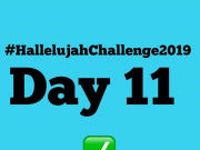 Day 11 Friday 2019 Hallelujah Challenge By Nathaniel Bassey