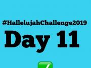 Day 11 Friday 2019 Hallelujah Challenge By Nathaniel Bassey