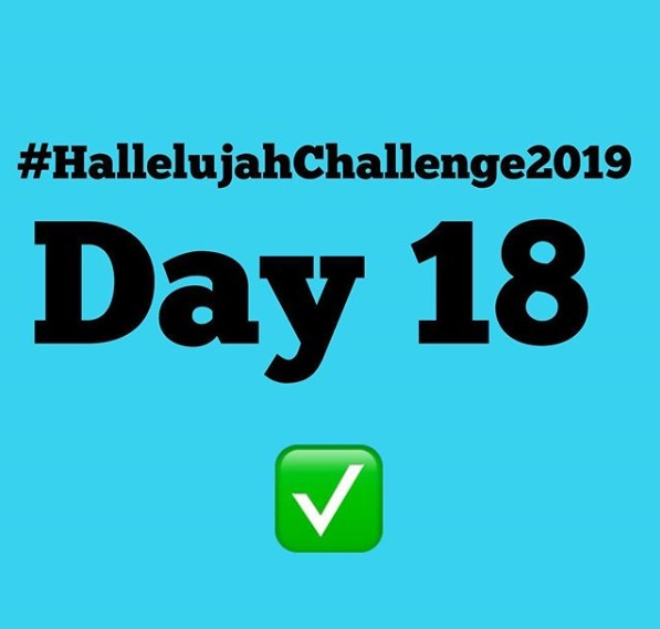 Day 18 Friday Hallelujah Challenge 2019 By Nathaniel Bassey