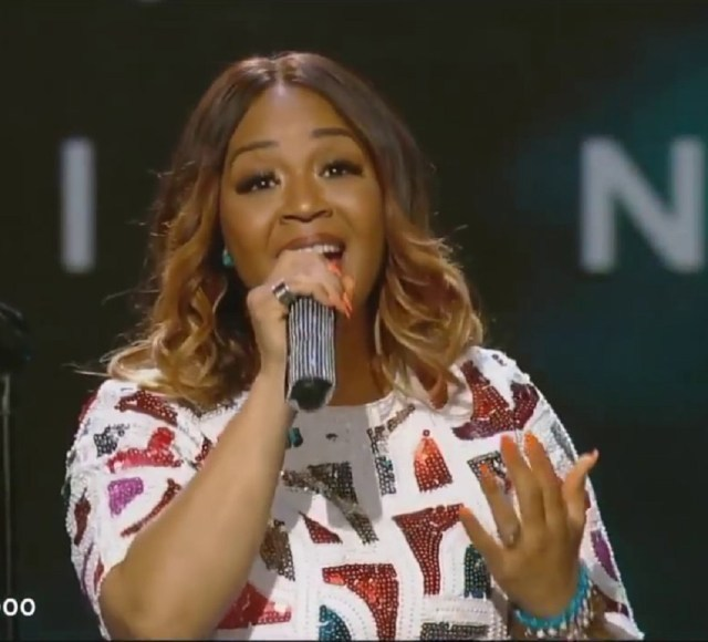 Erica Campbell - All I Need Is You + Way Maker + Son of God