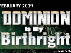 February 2019 Prophetic Focus