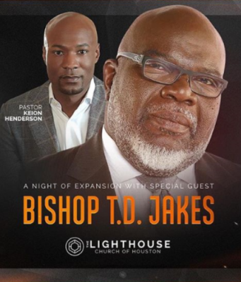 Bishop TD Jakes and Pastor Keion Henderson