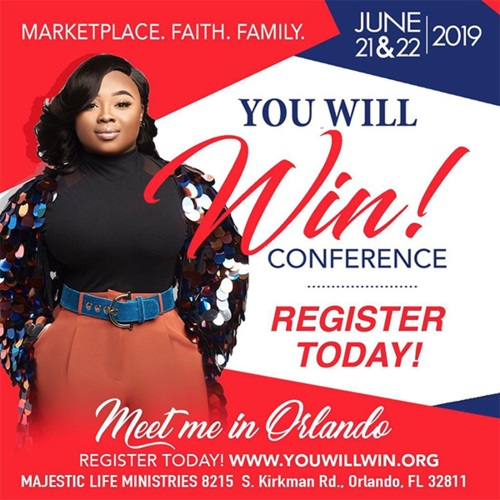 Jekalyn Carr (You Will Win) Conference 2019