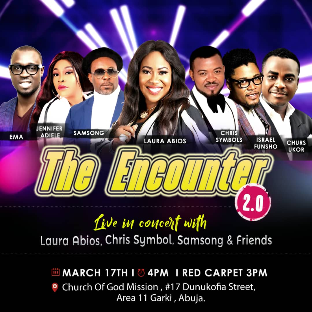 Laura Abios Music Presents The Encounter 2.0 Live In Concert