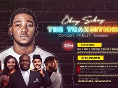 Okey Sokay Live In Concert (The Transition) Debut Album