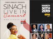 Sinach Live in Concert - Lekki Lagos, Nigeria