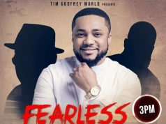 Fearless 2019 Concert (Rebirth) Tim Godfrey