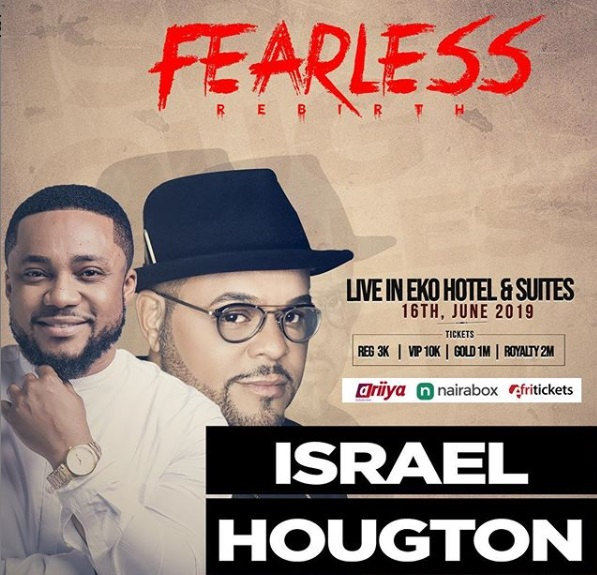 Fearless 2019 Concert. Tim Godfrey Ft Israel Houghton