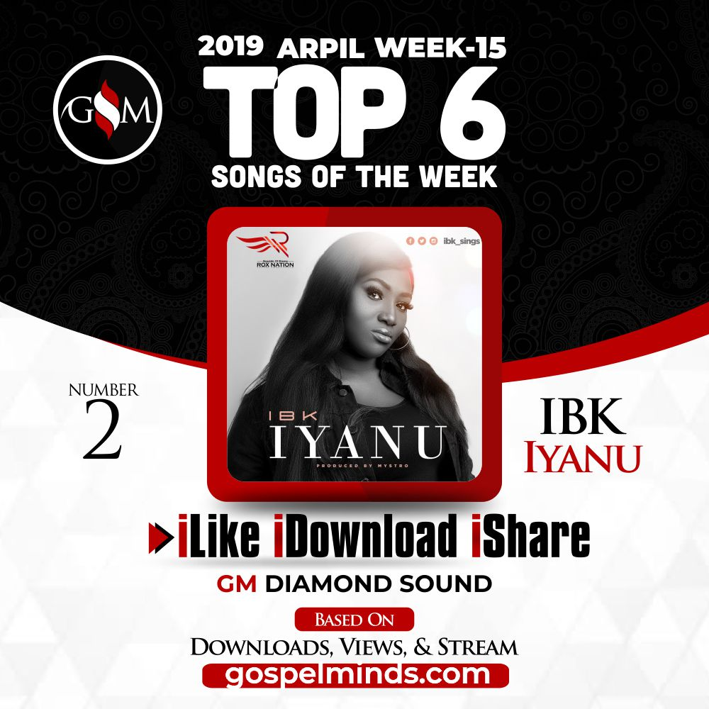 IBK - Iyanu (Top 6 Gospel Songs of The Week 15 April 2019)