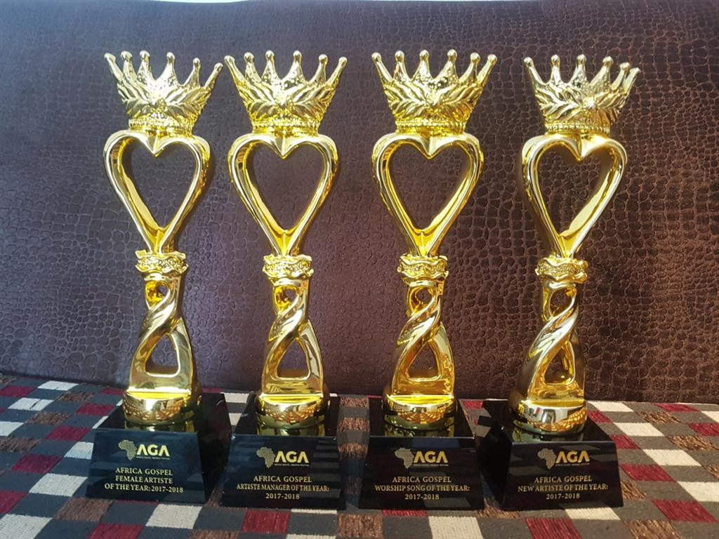 Mercy Chinwo and EeZee Tee Receive 4 Awards At AGAFEST 2019
