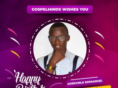 Adekunle Emmanuel Happy Birthday