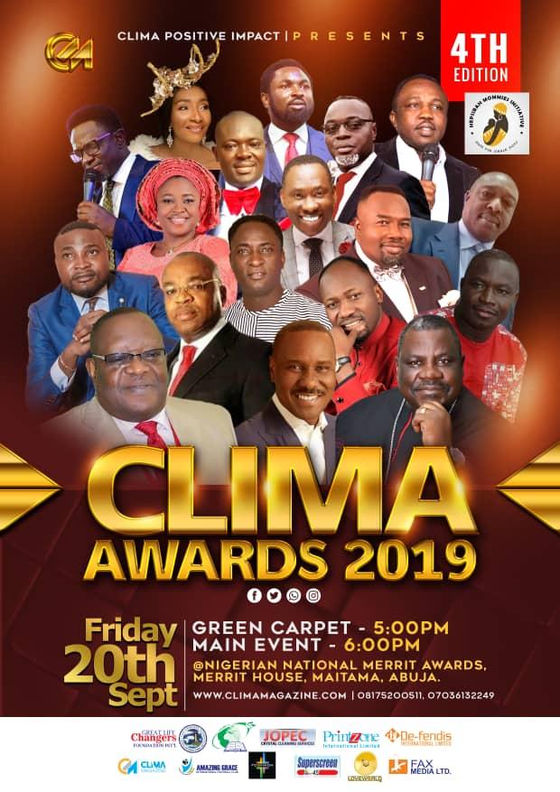 CLIMA Awards 2019