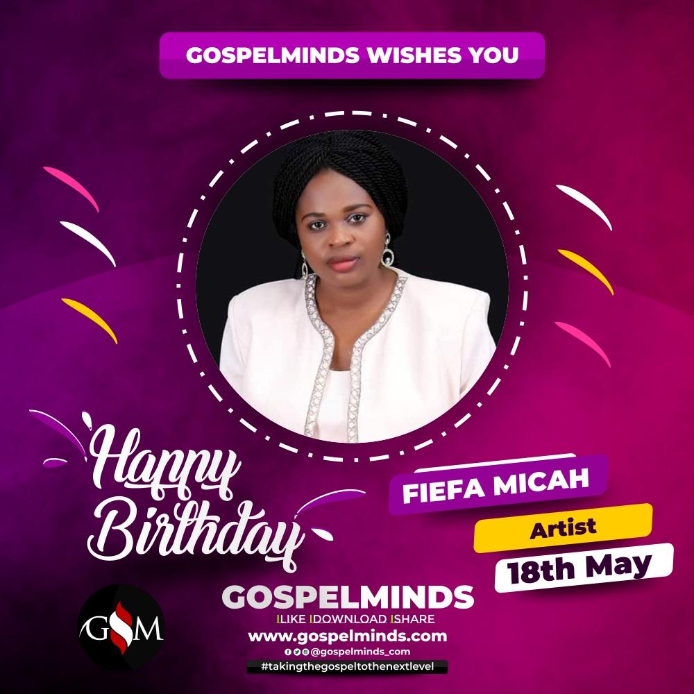 Happy Birthday Pastor Fiefa Micah