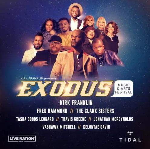 Kirk Franklin Second Annual Exodus Music & Arts Festival On TIDAL