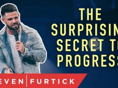 Pastor Steven Furtick - The Surprising Secret to Progress