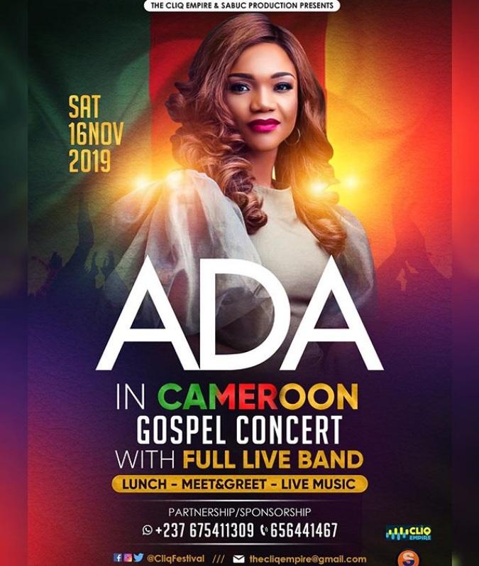 Ada In Cameroon Gospel Concert