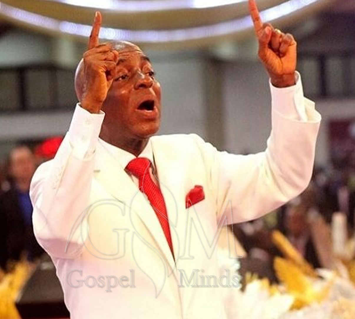 Bishop David Oyedepo at Covenant Day of Vengeance