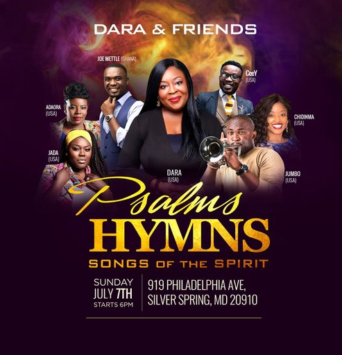 "Dara & Friends ""Psalms Hymns & Songs of the Spirit"" ft. Daramuzik"