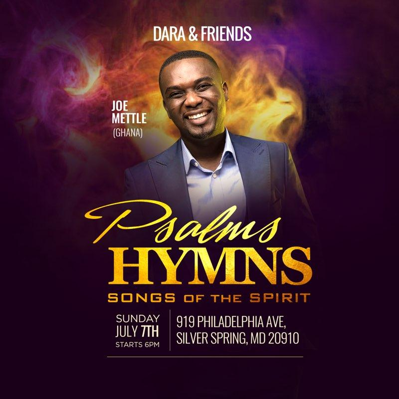 Joe Joe Mettle - Psalms Hymns & Songs of the Spirit