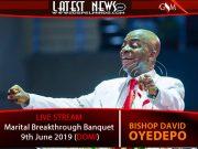 Marital Breakthrough Banquet - 9th June 2019 (DOMI)