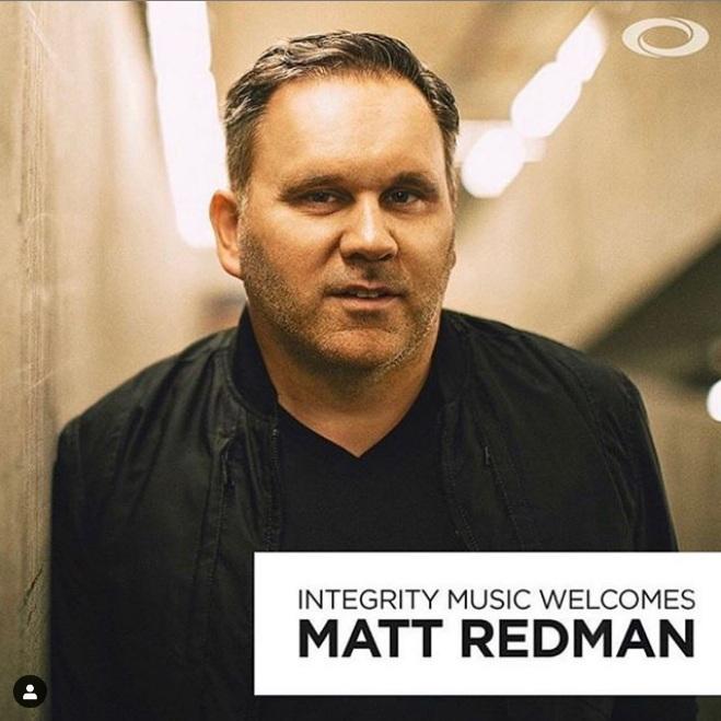 Matt Redman Signs Deal With Integrity Music