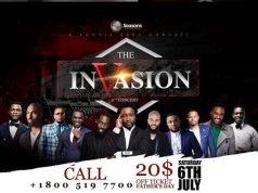 The Invasion Concert 2019 By Sonnie Badu Concept - Africa meet America