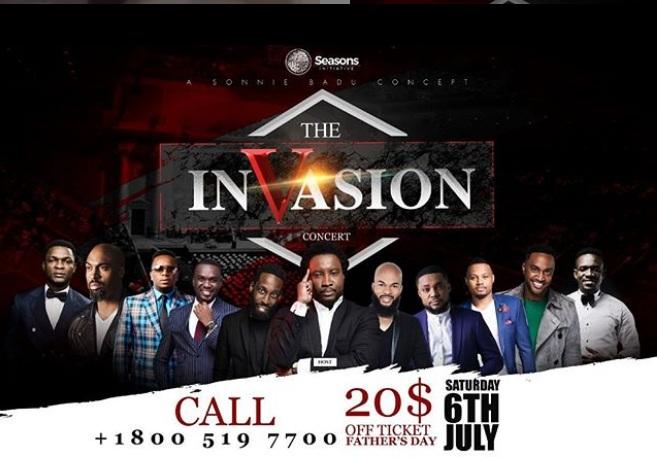 The Invasion Concert 2019 By Sonnie Badu Concept - Africa meet America