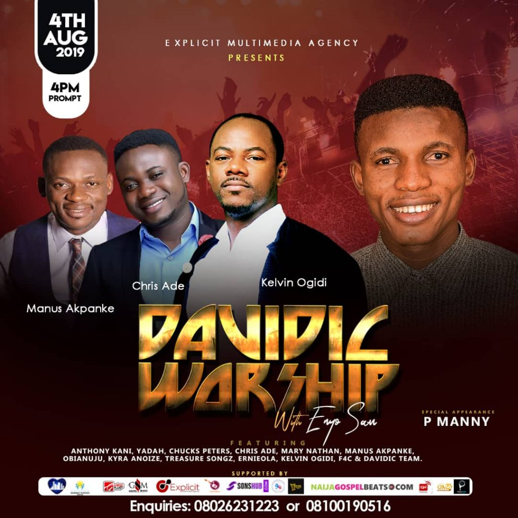 Davidic Worship 2019 with Enyo Sam 1