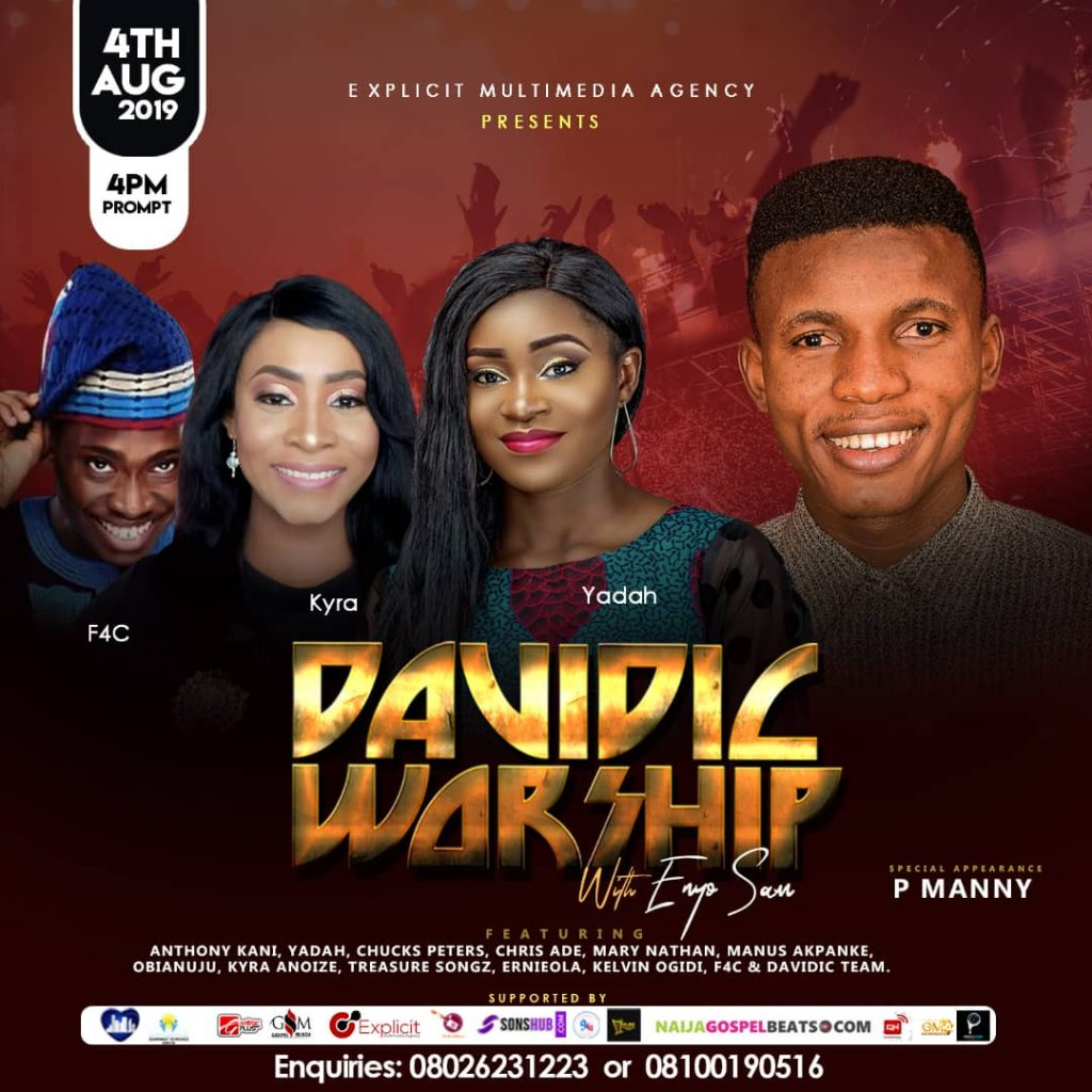 Davidic Worship 2019 with Enyo Sam 2