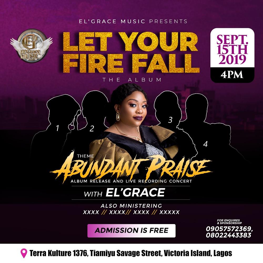 EL Grace Album Release & Live Recording Concert