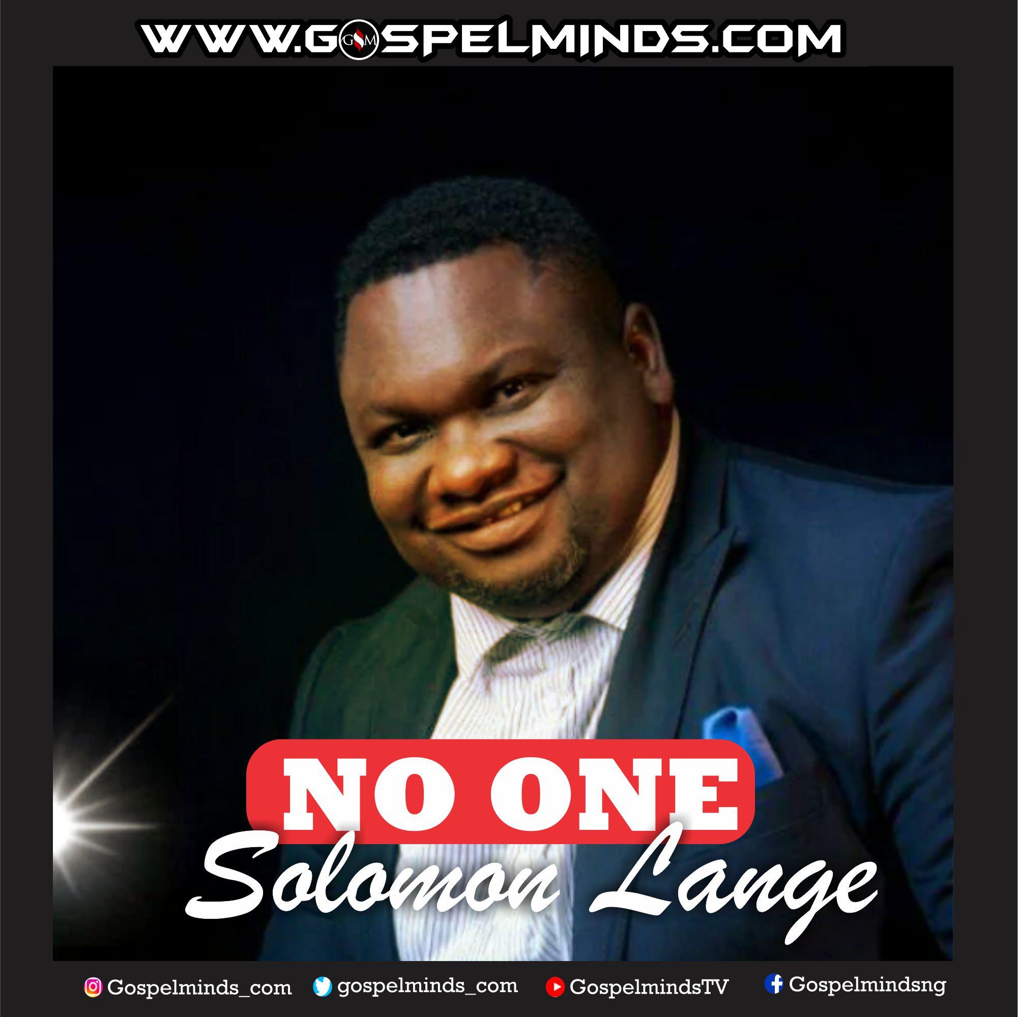 Solomon Lange - No one