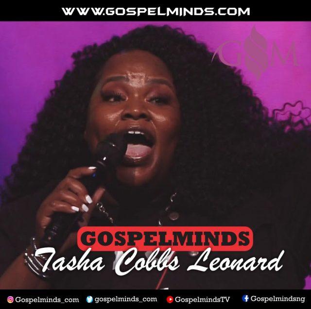 Tasha Cobbs Leonard Leads Worship With Takeover
