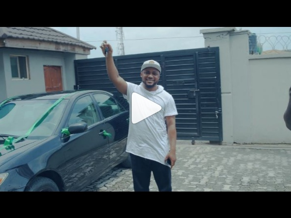 Tim Godfrey Buy New Car For RoxNation Artist Okey Sokay