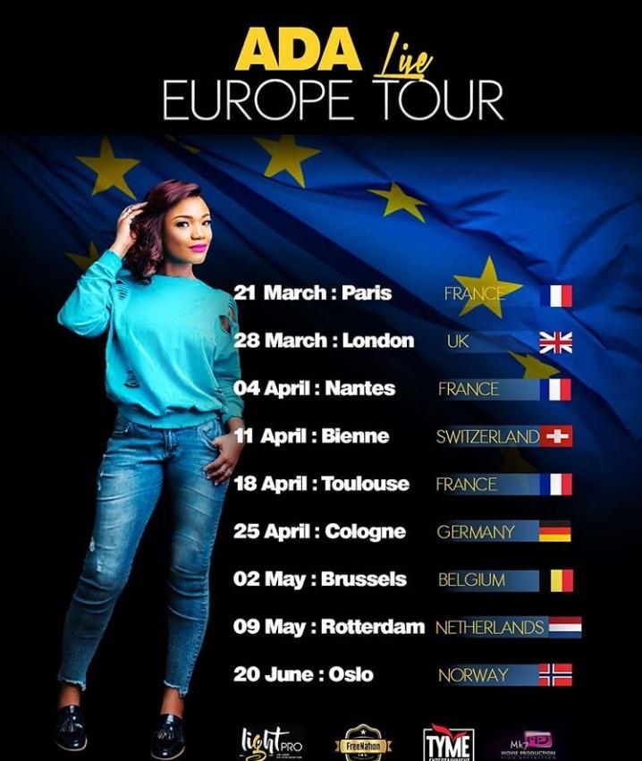 Ada Live Europe Tour