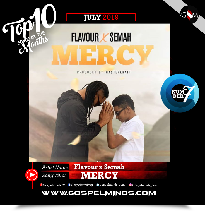Top 10 Gospel Songs of The Month - June 2019 GospelMinds Ent. (Flavour x Semah – Mercy)