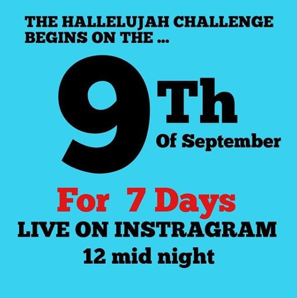 7 Days Hallelujah Challenge