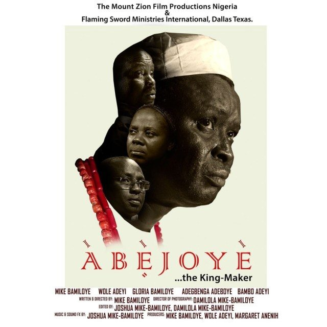 ABEJOYE (The Peace Maker)
