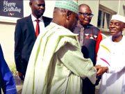 Atiku Abubakar Rejoices with Bishop David Oyedepo at 65th birthday